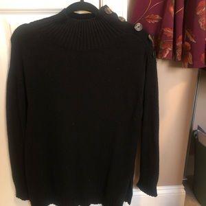 Sweaters - Anthro Wool Mockneck Sweater